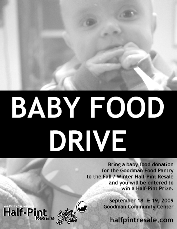 baby food drive