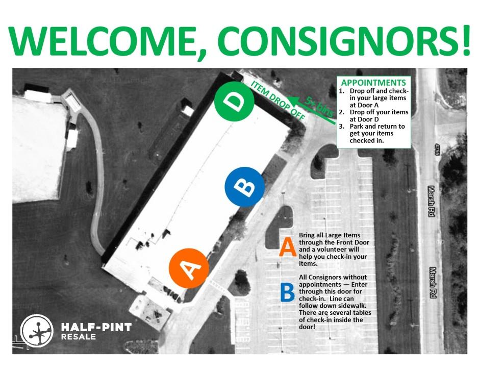 Consignor Map 2015