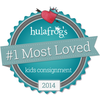 Hulafrog.#1.Most.Loved.Badge.Kids.Consignment.Print