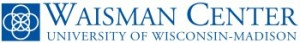 Long Waisman logo with Blue Square